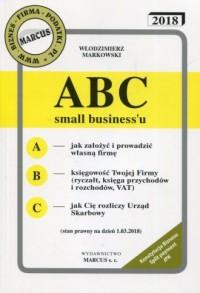 ABC small biznessu 2018 - okładka książki