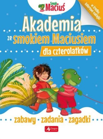Akademia ze smokiem Maciusiem dla - okładka książki