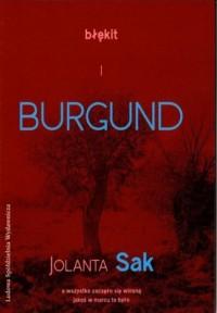Błękit i burgund - okładka książki