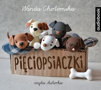 Pięciopsiaczki (CD mp3) - pudełko audiobooku