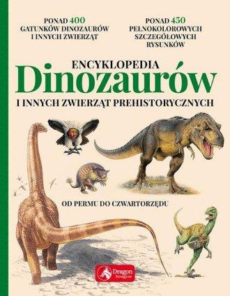 Encyklopedia dinozaurów i innych - okładka książki