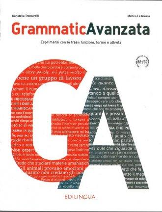 Grammatica Avanzata. Podręcznik - okładka podręcznika