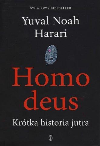 Homo deus. Krótka historia jutra - okładka książki