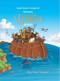 Ilustrowana Biblia dla dzieci - - okładka książki