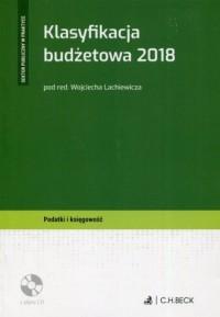 Klasyfikacja budżetowa 2018 (+ - okładka książki