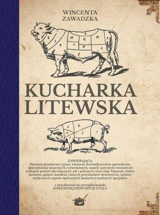 Kucharka litewska - okładka książki