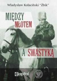 Między młotem a swastyką - okładka książki