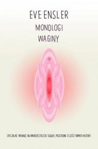 Monologi waginy - okładka książki