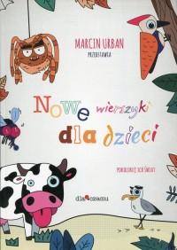 Nowe wierszyki dla dzieci. Pokoloruj ich świat - okładka książki
