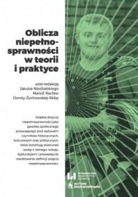Oblicza niepełnosprawności w teorii - okładka książki