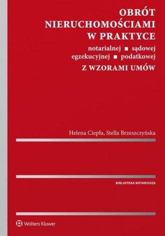Obrót nieruchomościami w praktyce - okładka książki