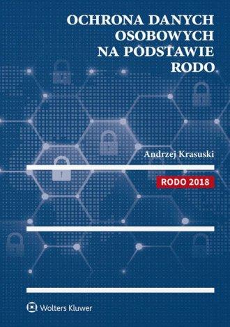 Ochrona danych osobowych na podstawie - okładka książki