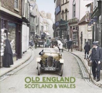 Old England Scotland & Wales - okładka książki