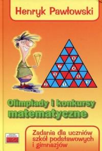 Olimpiady i konkursy matematyczne. - okładka podręcznika