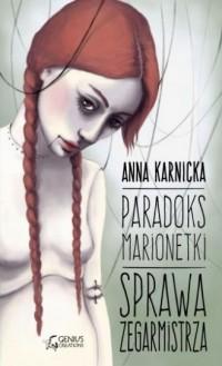 Paradoks Marionetki: Sprawa Zegarmistrza - okładka książki