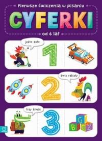 Pierwsze ćwiczenia w liczeniu CYFERKI - okładka podręcznika