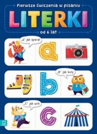 Pierwsze ćwiczenia w pisaniu LITERKI - okładka podręcznika