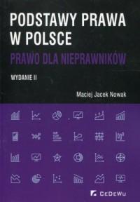 Podstawy prawa w Polsce. Prawo - okładka książki