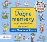 Posłuchajki. Dobre maniery czyli savoir-vivre dla dzieci - pudełko audiobooku