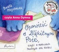Posłuchajki. Opowieść o Błękitnym Psie czyli o rzeczach trudnych dla dzieci - pudełko audiobooku