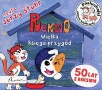 Posłuchajki Reksio. Wielka księga przygód - pudełko audiobooku