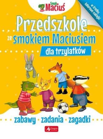 Przedszkole ze smokiem Maciusiem - okładka książki