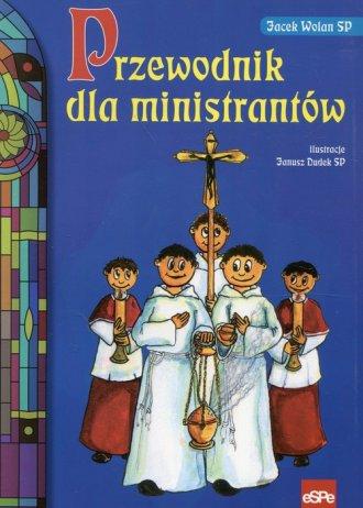 Przewodnik dla ministrantów - okładka książki