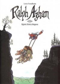 Ralph Azham 10 Ogień który dogasa - okładka książki
