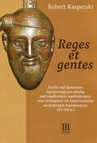 Reges et gentes. Studia nad dyskursem - okładka książki