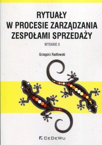 Rytuały w procesie zarządzania - okładka książki