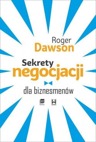 Sekrety negocjacji dla biznesmenów - okładka książki