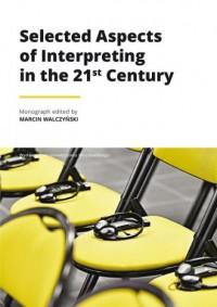 Selected Aspects of Interpreting - okładka książki