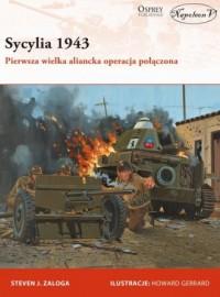 Sycylia 1943. Pierwsza wielka aliancka - okładka książki