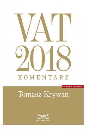 VAT 2018. Komentarz - okładka książki