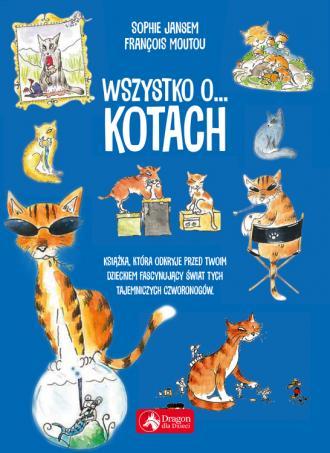 Wszystko o... kotach - okładka książki