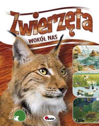 Zwierzęta wokół nas - okładka książki