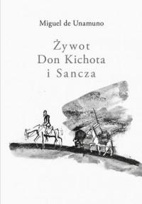 Żywot Don Kichota i Sancza - okładka książki