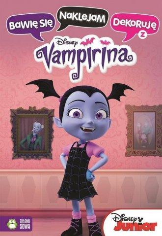Bawię się naklejam dekoruję z Vampiriną - okładka książki