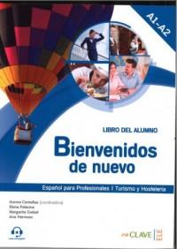 Bienvenidos de nuevo Podręcznik - okładka podręcznika