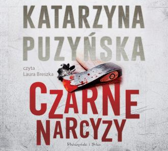 Czarne narcyzy (CD mp3) - pudełko audiobooku
