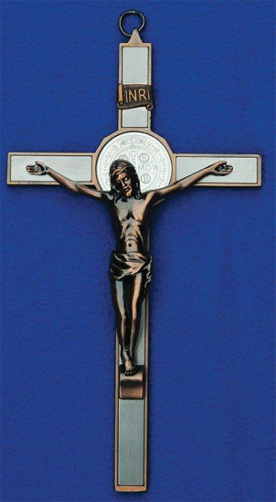 Cudowny Krzyż św. Benedykta (ścienny, -