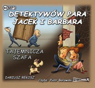 Detektywów para, Jacek i Barbara. - pudełko audiobooku