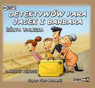 Detektywów para, Jacek i Barbara - pudełko audiobooku