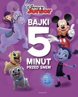 Disney Junior. Bajki 5 minut przed - okładka książki