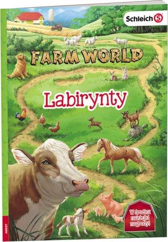 Farm World Labirynty - okładka książki