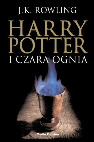 Harry Potter i czara ognia - okładka książki