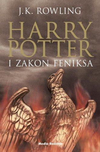 Harry Potter i zakon Feniksa - okładka książki