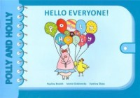Hello everyone! Polly and Holly - okładka podręcznika