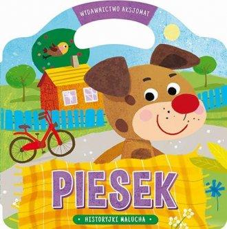 Historyjki malucha Piesek - okładka książki