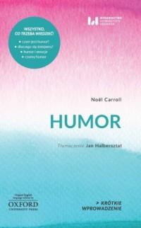 Humor - Noël Carroll - okładka książki